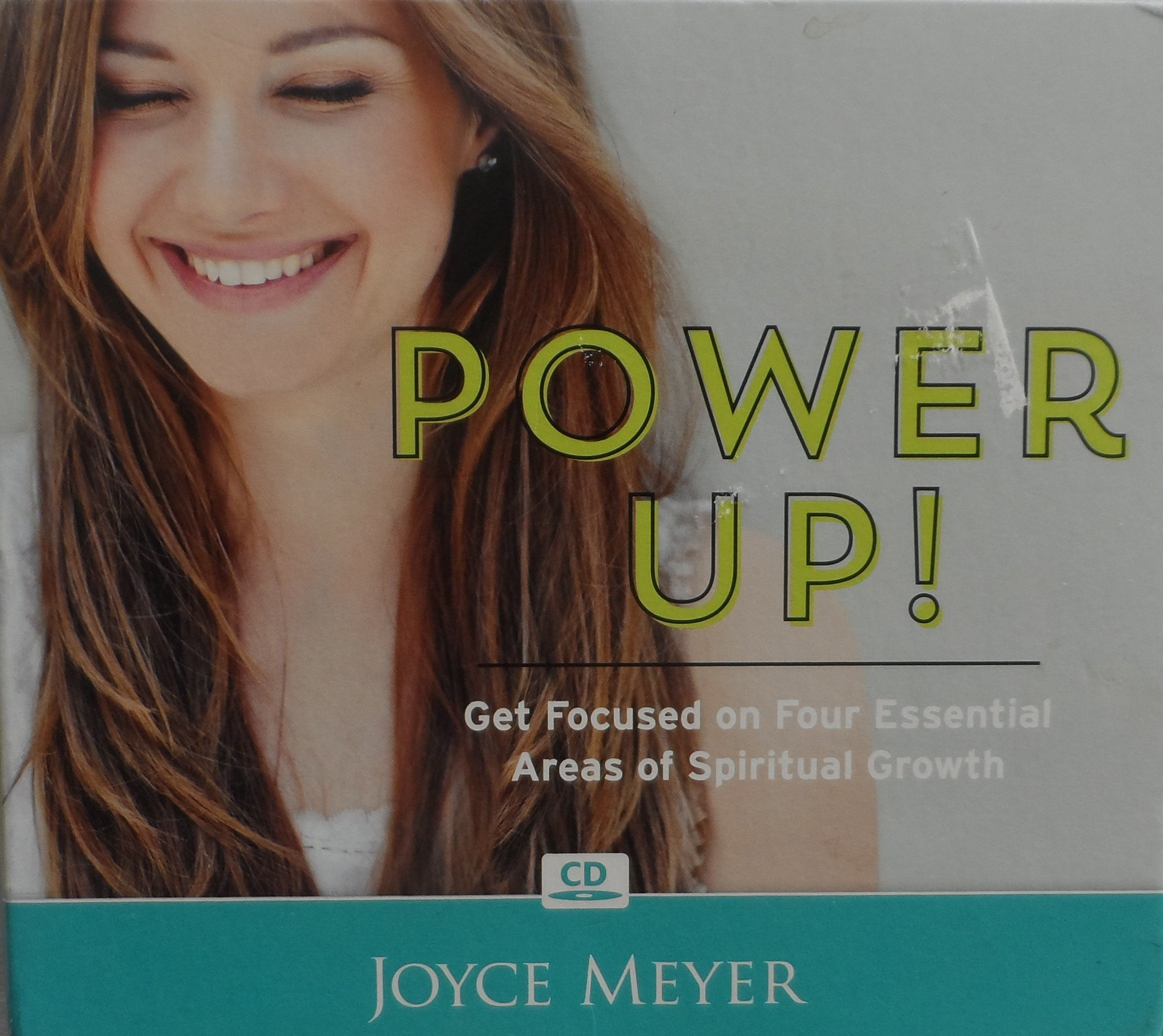 Power Up! Get Focused on Four Essential Areas of Spiritual Growth CD set by Joyce Meyer pdf
