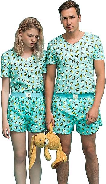 Happy Pijama Pijama Pijama - Conjunto de Pijama para Hombre y ...