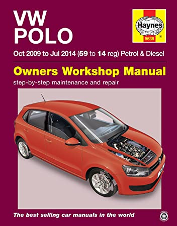 volkswagen polo repair manual haynes manual service manual workshop rh amazon co uk vw polo 2009 service manual pdf vw polo 2009 owners manual pdf