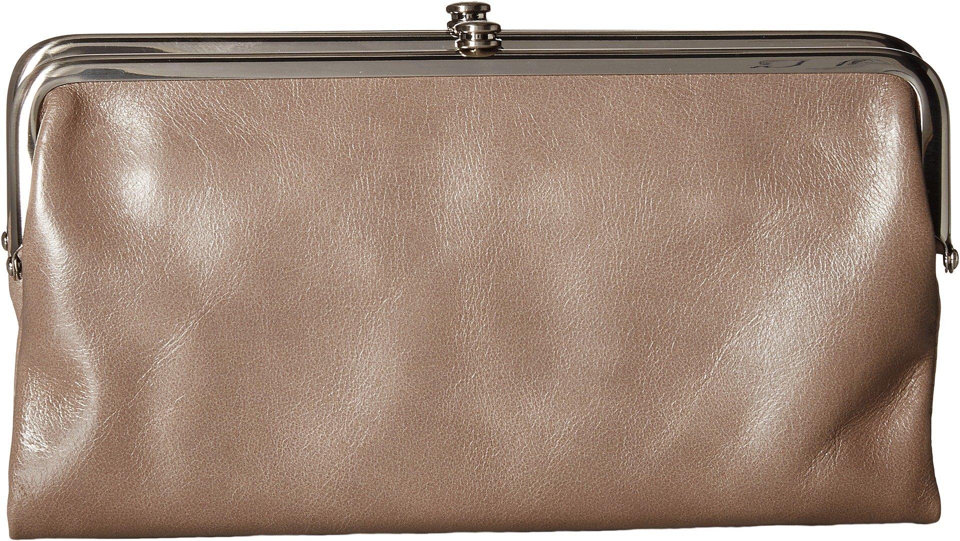 Hobo Womens Lauren Vintage Wallet Clutch Purse (Ash)