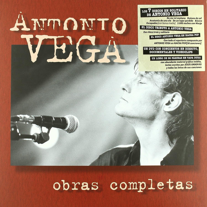Obras Completas: Antonio Vega: Amazon.es: Música