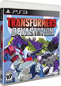 Transformers Devastation - PlayStation 3