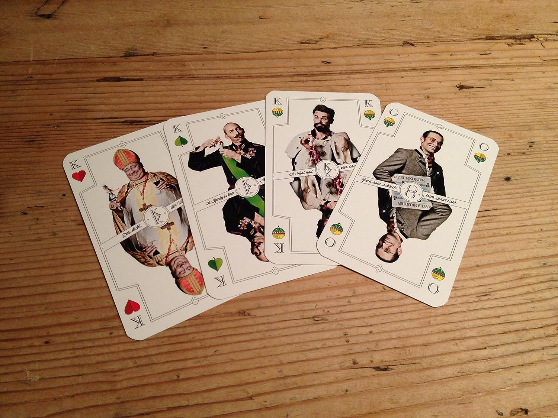 Zefix Schafkopf Spielkarten Derbe Fotos Herbe Sprüche