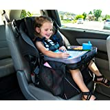 Kids E-Z Travel Lap Tray, provides organized access to drawing, snacks and activities for hours on-the-go. Includes BONUS printable travel games. (Black)