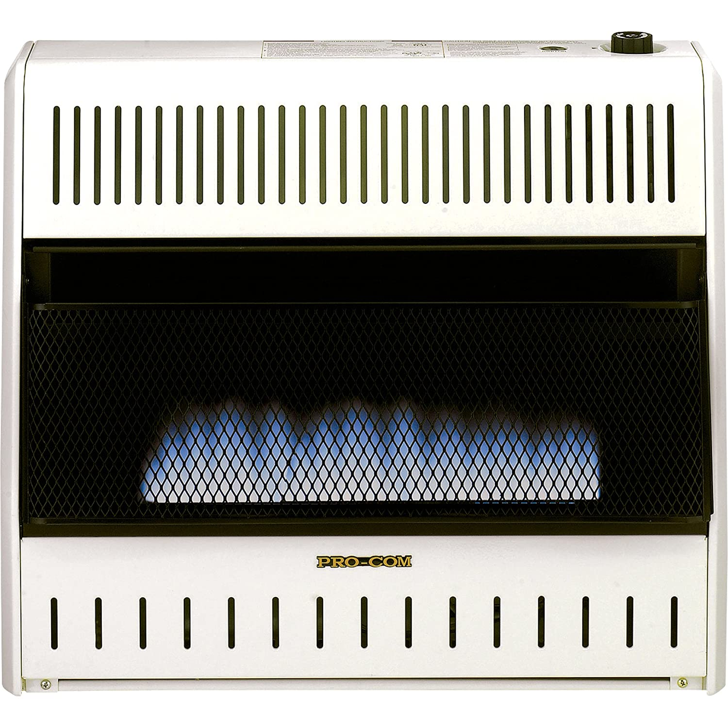 Amazoncom Procom Blue Flame Vent Free Wall Heater 30000 Btu . Ventless Gas  Fireplace Reviews ... - Fireplace Inserts Hearth And Fireplaces On Pinterest Ventless Gas