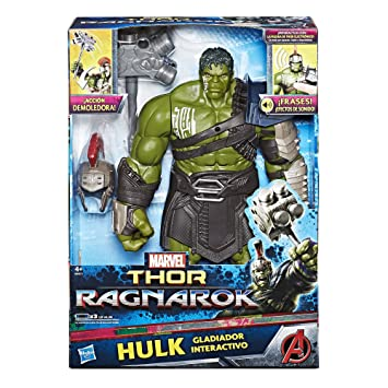 B9971105 Figura Avengers Marvel Electrónica Hulkhasbro Ragnarok De Yb6f7yg