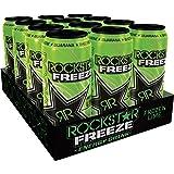 Rockstar Engery Drink Freeze Frozen Lime, 12er Pack, Einweg (12 x 500 ml)