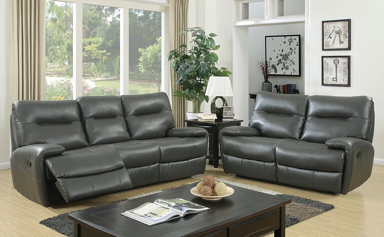 Amazon.com: Muebles de America Harvey sofá de transición con ...