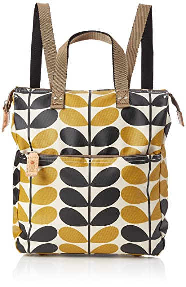 Orla Kiely Women s Backpack Backpack Yellow (Dandelion)  Amazon.co.uk   Shoes   Bags 3e15844c3b052