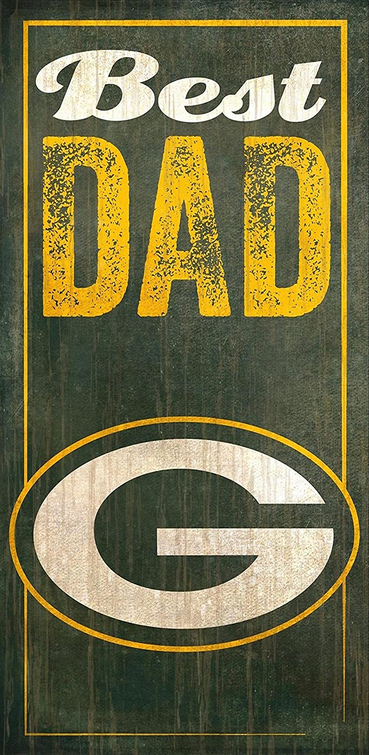 Fan Creations Green Bay Packers Best Dad Sign, Multicolored