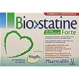 Pharmalife Biostatine Forte Integratore Alimentare per il Colesterolo - 60 Compresse