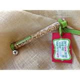 Reindeer Food - A Fun Christmas Tradition, Stocking Stuffer, & Gift Idea - Pre-Packaged Tube of Magic Reindeer Food