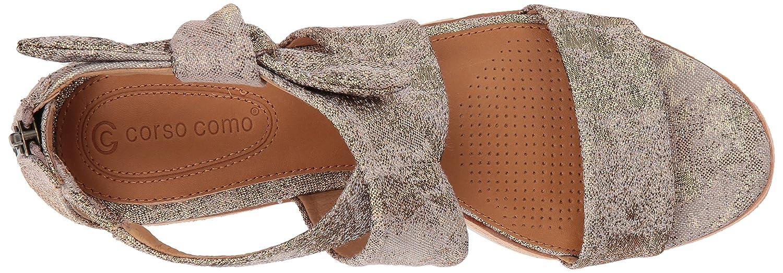 Old Rose 9 Medium US CC Corso Como Womens Rasque Wedge Sandal