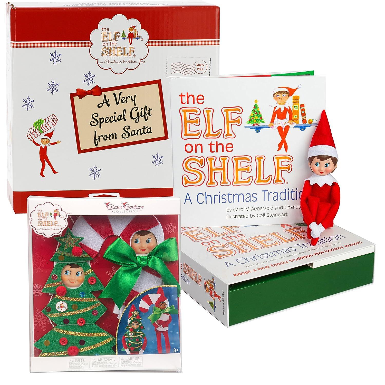 Amazon Elf on the Shelf Gift Set Girl Scout Elf Plus Two Ha