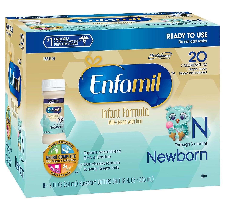 Amazon.com : Niño recién nacido Fórmula, 2 onzas 6-Count (paquete de ...