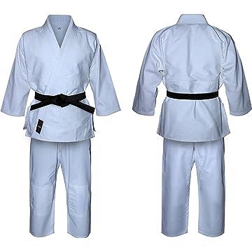 ZooBoo Martial Arts Aikido Judo Student Karate Gi Suit Uniform Costume With Belt