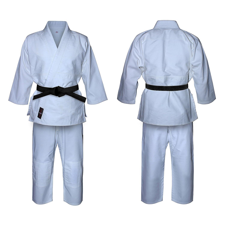 Uniforme de Judo en blanco lejía, para niños y adultos, kimono. Trajes blancos de judo V-sports