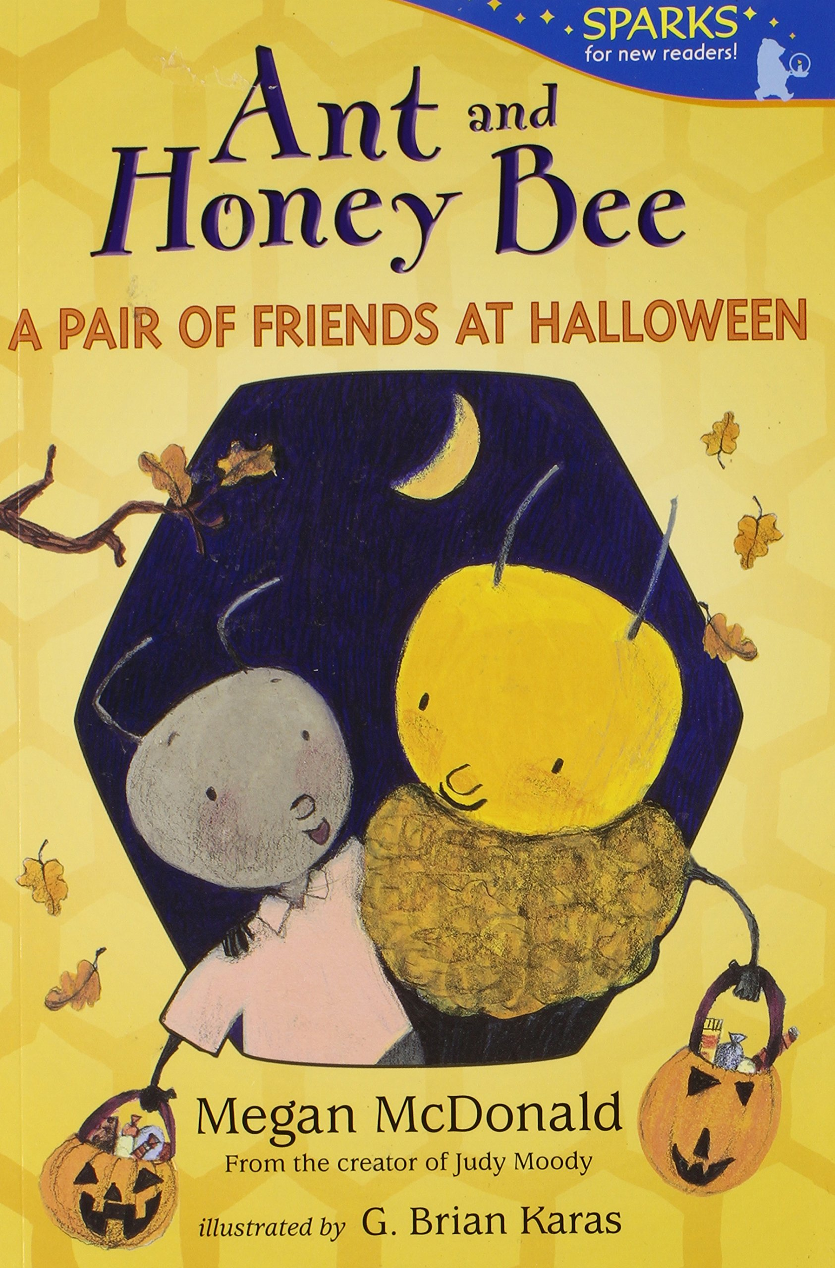 amazoncom ant and honey bee a pair of friends at halloween candlewick sparks 9780763668648 megan mcdonald g brian karas books - Judy Moody Halloween Costume