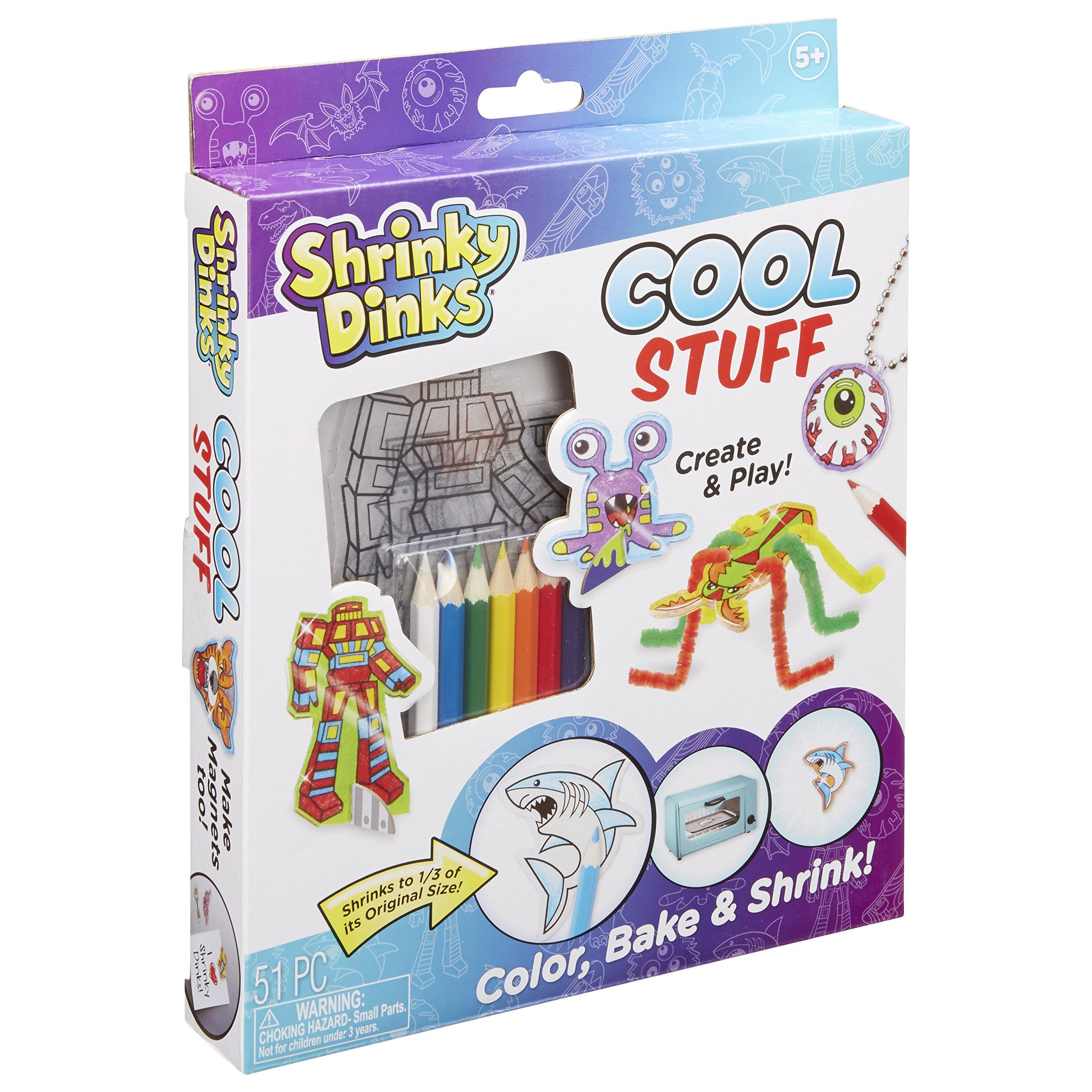 Shrinky Dinks Cool Stuff Activity Set Kids Art and Craft Activity
