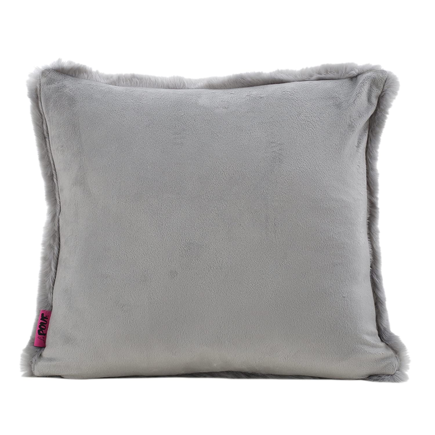 Ellison Sterling Decorative Faux Fur Fabric Throw Pillow | Ideal for The Living Room or Bedroom Set of 2 Plush Texture GDF Studio 299803