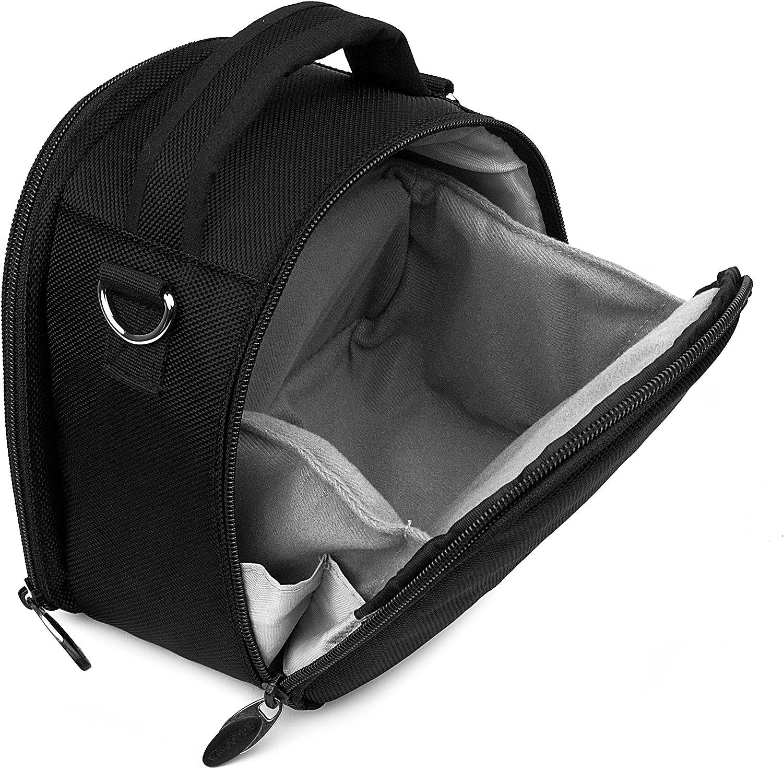 Ultralight Camera Case Black Bag with Attachable Strap for Ricoh WG M2 GR II WG 50 WG 5 GPS WG 30 Wi fi Theta V SC S m15