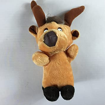 Amazon Com Moose Reindeer Vintage Plush Old Firm Carnival Prize