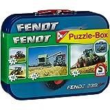 Schmidt - 55589 - Puzzle - Fendt - Coffret de Puzzles 2X26 - 2X48 Pièces