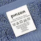 Pinzon Organic Cotton Hand Towels (6 Pack), Indigo