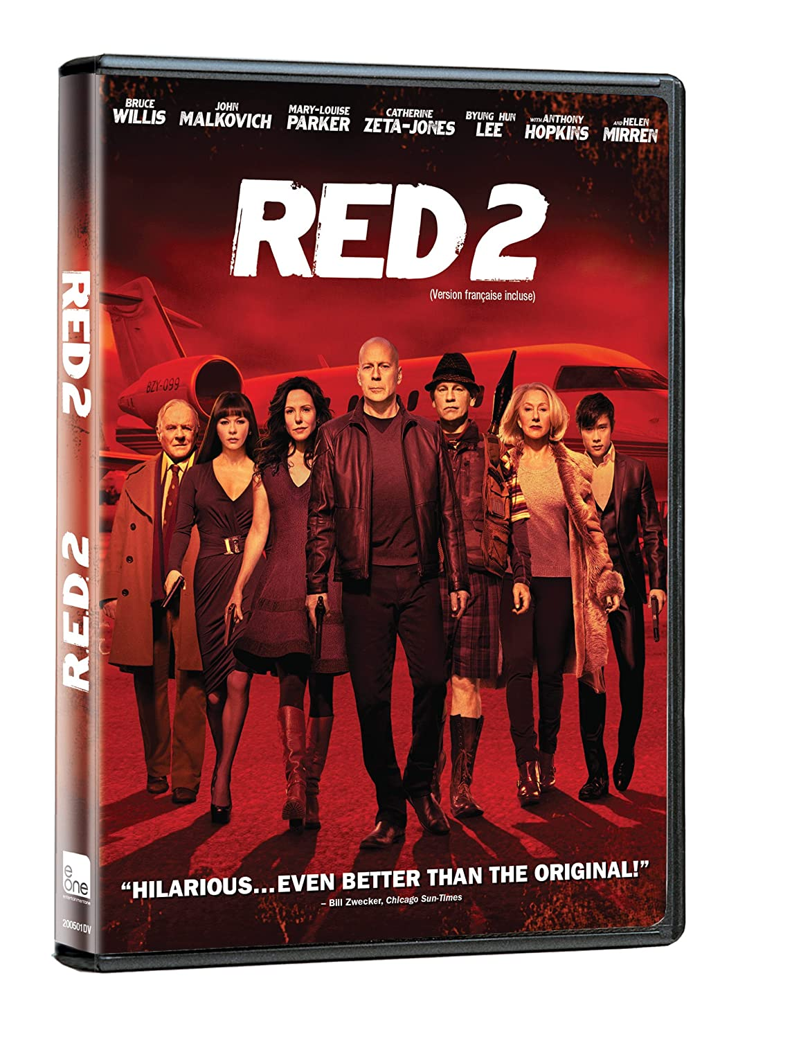 Red 2 (Bilingual) Bruce Willis Helen Mirren John Malkovich Catherine Zeta-Jones
