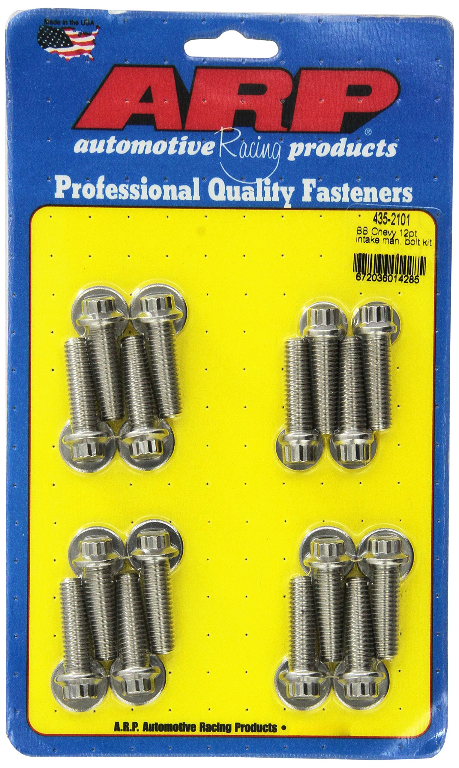 ARP 4352101 Stainless 300 12-Point Intake Manifold Bolt Kit by ARP (Image #1)