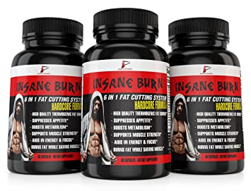 Insane Burn Fat Burner Fast Fat Burner For Men Supplements Weight Loss Pills Muscle