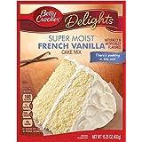General Mills Betty Crocker Super Moist French Vanilla Cake Mix, 15.25 oz