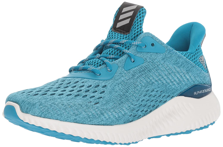 adidas Women's Alphabounce Em W Running Shoe B01MSQHAXQ 9.5 B(M) US|Mystery Petrol/Grey Two/Petrol Night