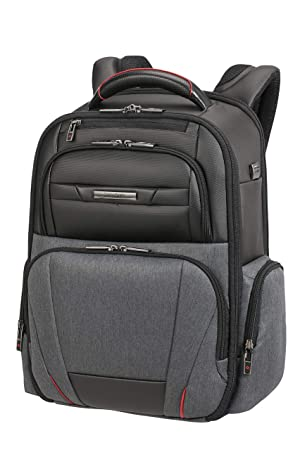 SAMSONITE Pro-DLX Duo - Laptop Mochila Tipo Casual 46 Centimeters 20 Gris (Grey Melange/Black): Amazon.es: Equipaje
