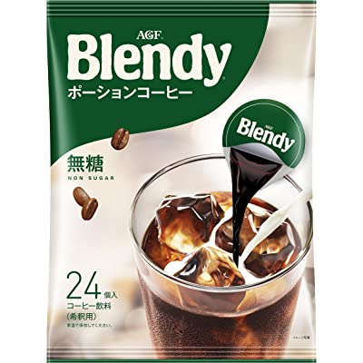 24 AGF Blendy potion coffee no sugar