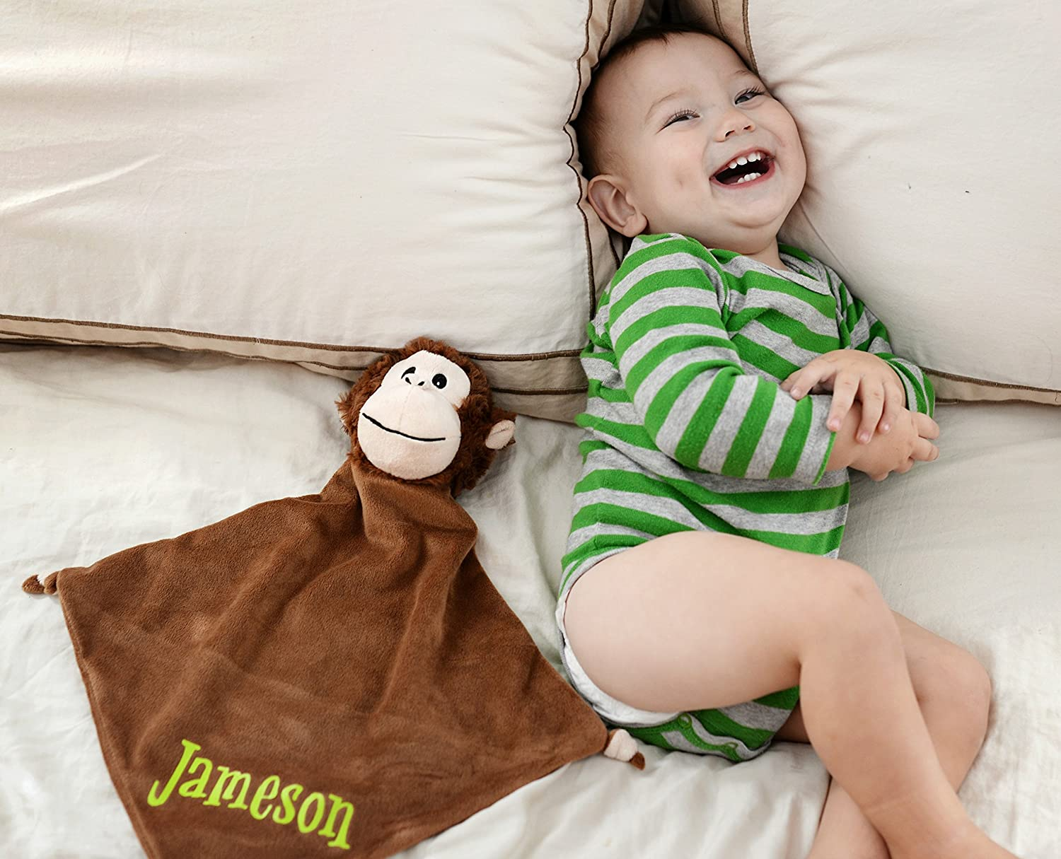 Personalized Monkey Security Blanket
