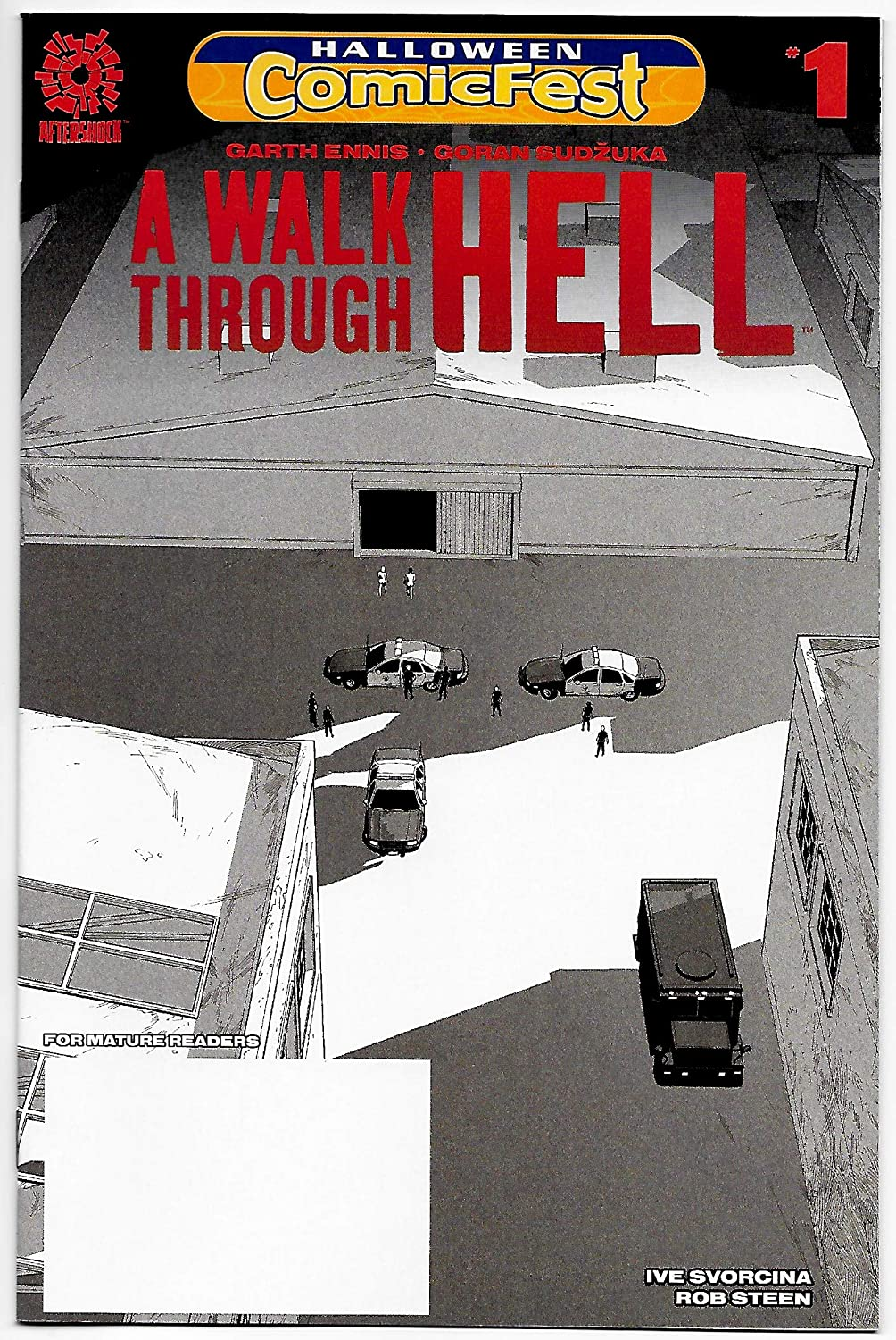 HCF Halloween ComicFest A Walk Through Hell #1 (Aftershock, 2018) NM