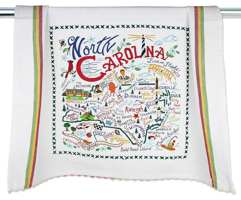 e94b667ac6 Amazon.com: Catstudio | North Carolina Dish Cloth, Tea Towel or Decorative  Hand Towel | Geography Collection | 20