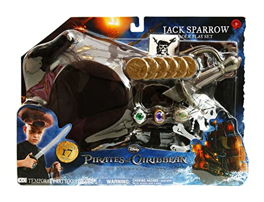 Disneys Pirates of the Caribbean On Stranger Tides Jack Sparrow ...