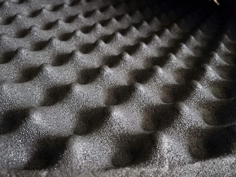 soomj - Espuma de absorción acústica insonorizadora para estudio de sonido 50 x 80 cm, 0,4 m²: Amazon.es: Instrumentos musicales