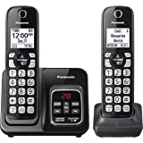 Panasonic KX-TGD562M Link2Cell Bluetooth Cordless Phone with Voice Assist and Answering Machine - 2 Handsets