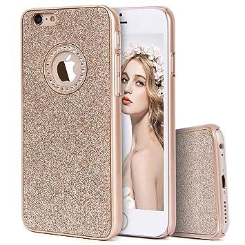 8cc7501837 Imikoko iPhone6sケース iPhone6sケース キラキラケース ハード 耐衝撃 薄型 おしゃれ かわいい ブランド (iPhone