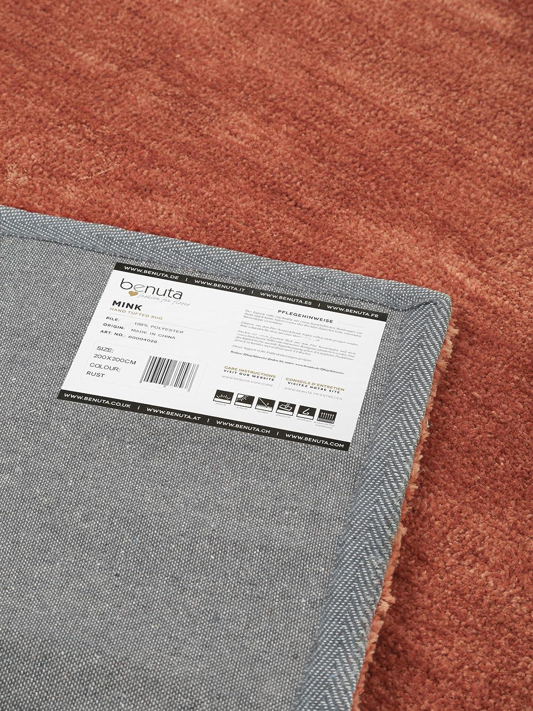 Benuta De benuta mink modern rug orange 200x200 cm 6ft7 x 6ft7 pollution