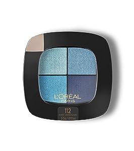 L'Oréal Paris Colour Riche Eye Pocket Palette Eye Shadow, Avant Garde Azure, 0.1 oz.