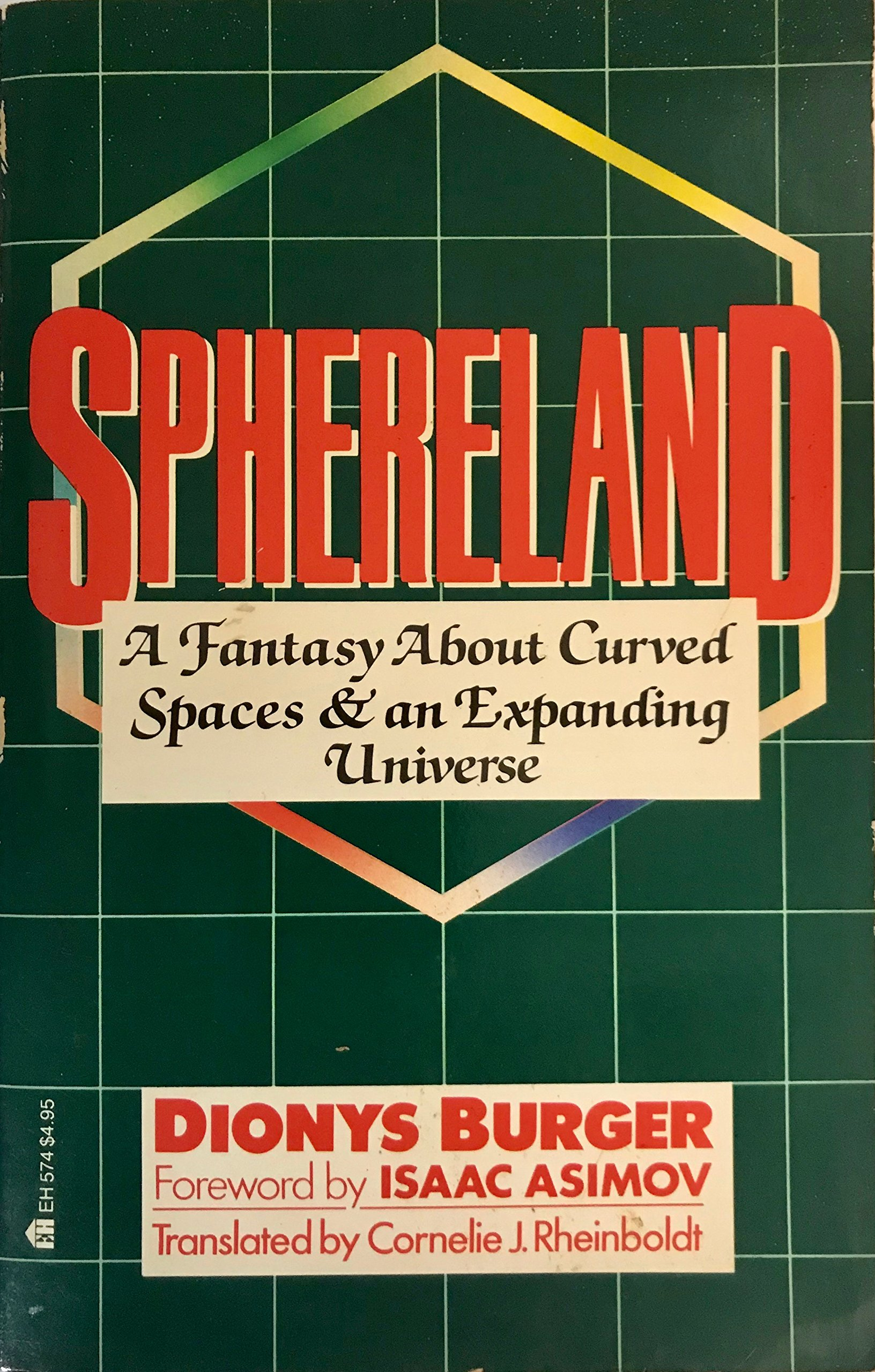 Sphereland: A Fantasy About Curved Spaces and an Expanding Universe (English and Dutch Edition), Dionys Burger
