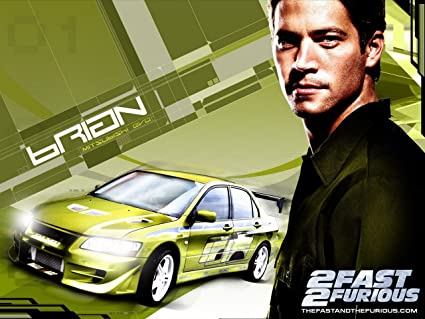 Posterhouzz Movie 2 Fast Furious Paul Walker HD Wallpaper Background Fine Art