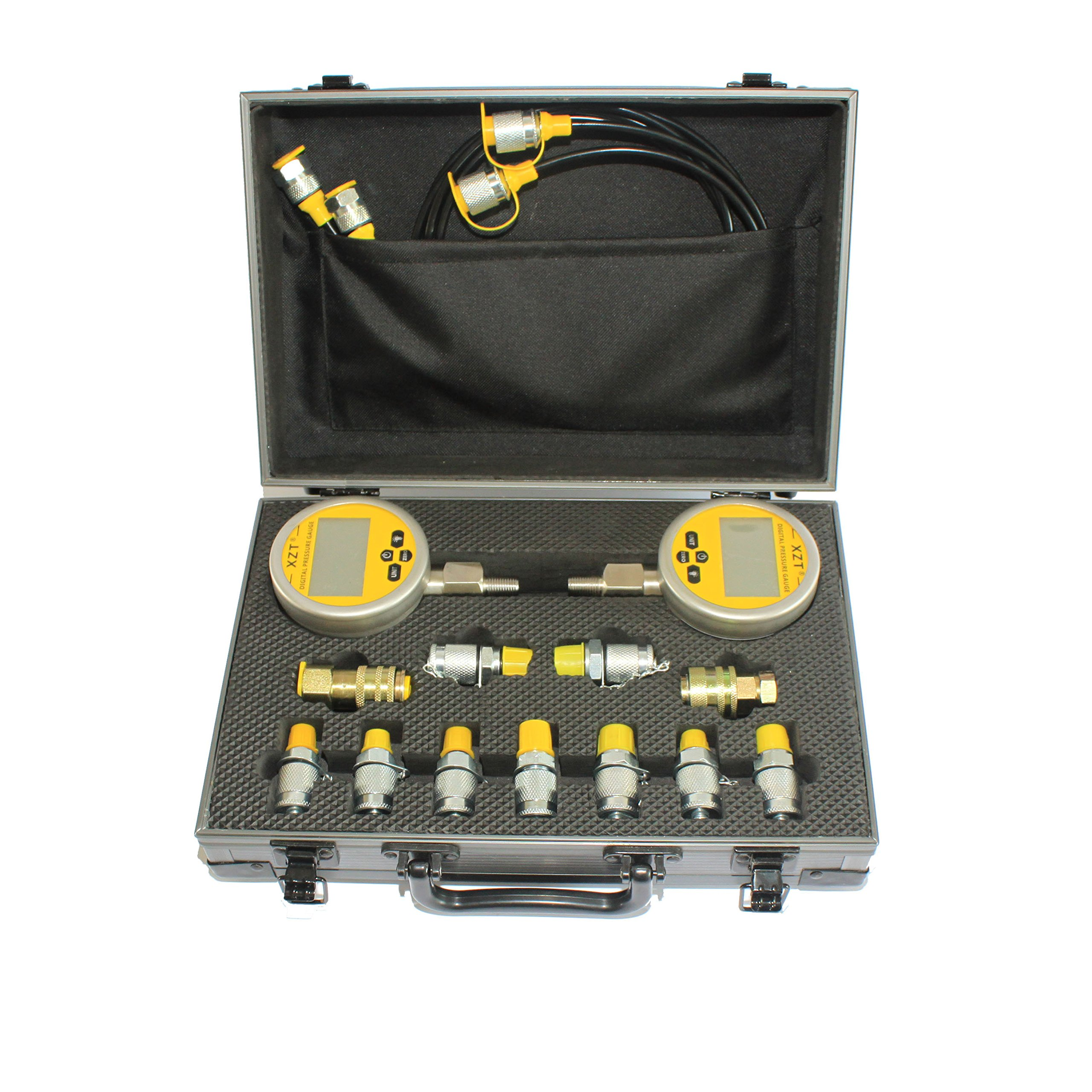 XZT 70md Digital Hydraulic Pressure Test Coupling Kit for Excavator Construction Machinery