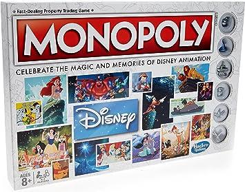 Hasbro c2116104 Monopoly: Disney, Juego: Amazon.es: Juguetes y juegos