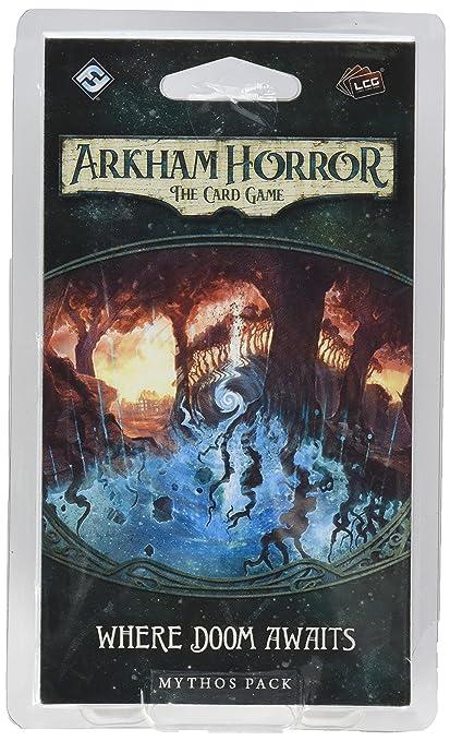 Arkham Horror LCG Where Doom Awaits - English: Amazon.es ...