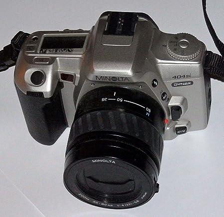 FOTOTECHNIK by LLL SLR fotos - Cámara réflex - Minolta Dynax 404si ...